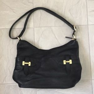 Giani Bernini black leather purse